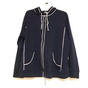 Vsport by Venezia Dark Blue Hoodie Sweater